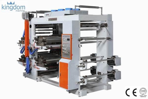 دستگاه چاپ فلکسو چهار رنگ