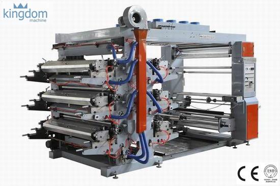 دستگاه چاپ فلکسو ۶ رنگ